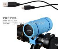 Wholesale M Audio Subwoofer - Wholesale- Bicycle Speaker MP3 Player USB TF Card Reader Slot Subwoofer Ride Audio Gaciron bt-m Bluetooth Sport Speaker li-ion Battery