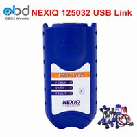Wholesale Ford Truck Seats - 2016 High Quality NEXIQ 125032 USB Link + Software Diesel Truck Diagnose Interface NEXIQ Truck Diagnostic Tool NEXIQ USB Link