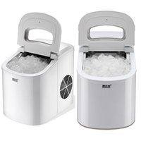 home shopping kitchen - New Portable Ice Maker Machine KG Capacity Electric Ice Maker Drinks Coffee shop Home Kitchen Ice maker Silver In Stock WX C64