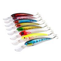 Wholesale 17cm hard lures for sale - 8 color cm g Hard Plastic Lures Fishing Hooks Fishhooks D Minnow Fishing Lure Hook Artificial Bait Pesca Tackle Accessories