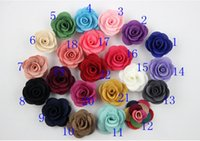Wholesale Wholesale Yarns China - New fashion men camellia brooches rose flower lapel pin suit burning flower corsage fabric yarn pin button Stick brooches for wedding party