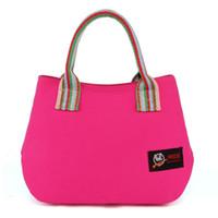 Wholesale Small Cloth Purses - Bags Handbags Women Famous Brands Cotton Canvas Bag Fashion Cloth Bag Purses And Handbags Female Tote Bag High Quality