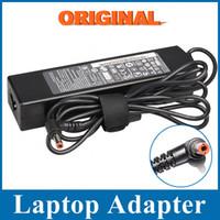 Wholesale Genuine Laptop Adapters - Wholesale- Genuine original 20V 4.5A 90W For Lenovo Z465 Z475 Z570 B470 B570 E46 Laptop AC Adapter Charger
