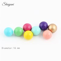 Wholesale Mexican Bola Harmony Ball Wholesale - Colorful 16mm Women Pregnant Ball Jewelry Gift Mexican Chime Ball Sounds Harmony Angel Bola Caller for Locket Pendant