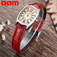 Wholesale Dom Ceramic - watch brand DOM luxury brand waterproof style watch quartz leather women reloj de las mujeres watches women
