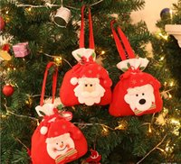 New Hot Sale Christmas Decorações Presentes Candy Elderly Gift Tote Bag Cute Best Wholesale Price