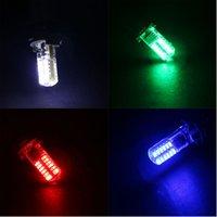ingrosso giallo h11-Lampeggiante 100X T10 lampeggiante 194 168 W5W 3014 24 LED SMD 24 LED SILICA Lampadina Super White Clearance Luci 12V Flash 2 Modalità Luci