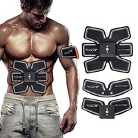 Wholesale Abdominal Belts - Abdominal Trainer, Muscle Toner Toning Belts Ab Trainer Core Training Equipment Waist Trainer Stomach Exercise Machine Men Women Fitness