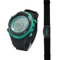 Wholesale Udoarts Heart Rate Monitor with Chest Strap Pack of Batteries and Screwdriver Black Green Nature