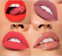 Wholesale Love Dolls Full - Kylie Cosmetics In Love With the Koko Doll Bunny Baby Girl Sugar PlumShade Liquid Matte Lipstick 4pcs set
