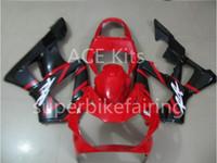 honda cbr 929 ensemble de carénage achat en gros de-3 cadeaux gratuits Kit de carénage de moto Pour HONDA CBR900RR 00 01 CBR 900RR 929 2000 2001 Ensemble de carénages en ABS Noir Rouge AS13