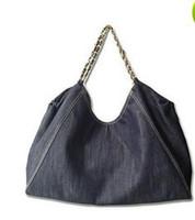 Wholesale Blue Jean Bag - Jean Denim Ladies Hand Bag Women Big Hobo Handbag Shopper Tote Large Messenger Cross body Shoulder Bag