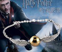 heiligt armband großhandel-Großhandels- 2017 heiße verkaufenarmbänder Armreifen der Film das tödliche vergoldete für Hallows Harry B Potter Armband-Tropfenmänner geben Verschiffen frei