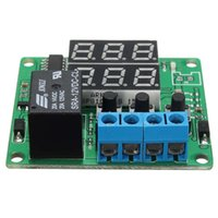 Wholesale Digital Timers Relay - Wholesale- Hot DC 12V Timing Delay Time Timer Relay Module Digital LED Cycle Clock Controller Best Price Led DIY Detection Modules Board