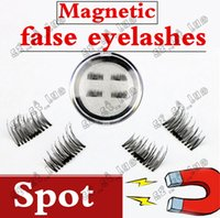 Wholesale Eyelash Glue Stone - 1PCS2017 latest magnet false eyelash suction stone mascara magnetic magnetic buckle without glue three-dimensional multi-layer natural thick