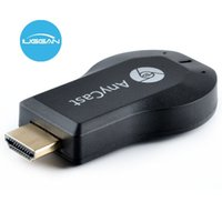 AnyCast M2 Plus Wireless WiFi Display Dongle Receiver 1080P HDMI TV Stick DLNA Airplay Miracast para telefones inteligentes Monitor de PC para HDTV