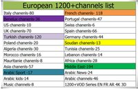 Wholesale French Living - QHDTV Yearly Iptv M3U French Arabic Iptv For More 1300 Live Dutch UK Spain Turkey Germany Algeria Africa Italy IP TV Channels