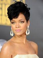 Wholesale High Quality Celebrity Wigs - Xiu Zhi Mei New Fashion short hair wig,hair High-quality, Wavy synthetic hair Wigs for Women, Black Female Rihanna Wavy Celebrity cosplay