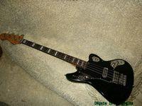 Wholesale green electric bass guitar - BASS Guitars Newest 4 Strings Jaguar Electric Bass Green High Quality OEM Guitars