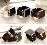 erkekler için u8 akıllı saatler toptan satış-Akıllı İzle Dijital DZ09 U8 Bilek Erkekler Bluetooth Elektronik SIM Kart Spor Smartwatch kamera Ile iPhone Android Telefon Için Wach