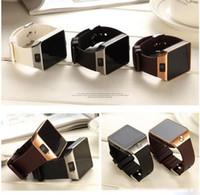 u8 relógios inteligentes para homens venda por atacado-Smart watch digital dz09 u8 pulso com homens bluetooth cartão sim smartwatch do esporte da câmera do bluetooth para iphone android telefone wach