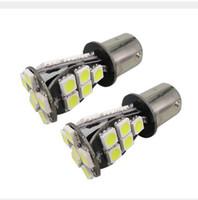 lâmpada verde 1157 venda por atacado-Venda Por Atacado Canbus Levou 5050 21SMD Ba15s Carro 1156 7506 P21W Reverter luzes de Backup lâmpada Para BMW 128i 135i M6 323i 328i