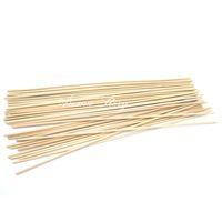 duftdiffusor schilf großhandel-Großhandel 100pcs / Lot 22cmx3mm Rattan Sticks Reed Diffusor Sticks Aroma Sicks für Home Duft Diffusor Kostenloser Versand