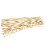 palos difusores de caña de ratán al por mayor-Venta al por mayor- 100pcs / Lot 22cmx3mm Rattan Sticks Reed Diffuser Sticks Aroma Sicks para casa Fragancia Difusor Envío Gratis