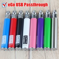2017 Ugo T ego Passthrough Battery 650 mAH Cigarro eletrônico Android Battery Fit para óleo de cera CE3 Vape Cartridge Vaporizer