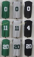 Wholesale Icon Logo - 2017-18 New Season Jerseys NK 11 Kyrie Irving Jersey 20 Gordon Hayward 0 Jayson Tatum Association White Icon Green Stitched Embroidery Logo