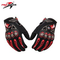 мотокросс грязевые перчатки оптовых-Wholesale- PRO-BIKER Motorcycle Racing Gloves Breathable Enduro Dirt Bike Moto Guantes Luvas Off Road Motocross Motorbike Riding Gloves