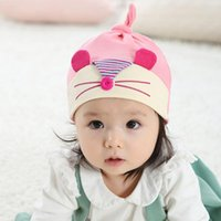 squirrel hats - Infant Baby Squirrel Knitted Hats Beanies Unisex Children Autumn Winter Warm Caps Color Kids Accessories
