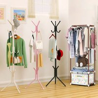 Wholesale High Quality Coat Rack - High Quality Fashion Metal Coat Rack Stand Clothes Rack Perfect Home Decoration