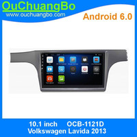 Wholesale Bluetooth For Car Radio - Ouchuangbo car radio video player androi 6.0 for Volkswagen Lavida 2013 with gps navigation bluetooth steering wheel control