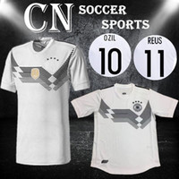 Soccer Men Short Thailand Quality Germany soccer jerseys 2018 World Cup  OZIL MULLER GOTZE HUMMELS KROOS 385ea7685