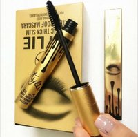 Wholesale 2016 New High quality GOLDEN Kylie Mascara Charming eyes Magic Thick Slim Waterproof Mascara Black color