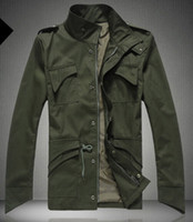 Wholesale Jacket Lapel Types - Professional Design Men Jacket Stand Collar Personality Jackets Mens Casual Slim Type Coat
