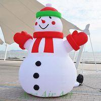 schneemann aufblasbar großhandel-RIESIGE 26 'FUSS Xmas kommerziellen Self Inflatable Snowman