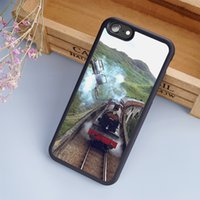Wholesale Harry Potter Iphone 4s - Hogwarts Express Harry Potter Art cellphone Cases For iPhone 6 6S Plus 7 7 Plus 5 5S 5C SE 4S Back Cover