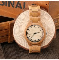 Wholesale Eyki Watch Band - Aaa Watches Luxury Brand Watch Bamboo Wooden Watch Bands Wristwatches Mens Watches Women's Fashion Automatic Watches