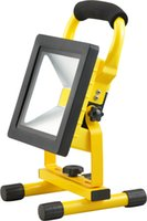 Wholesale dc led flood lights work - Portable led Rechargeable outdoor Flood Light 10w 20W 30w 50w 100-240V AC Input IP65 Led work Light indoor and outdoor