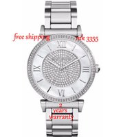 Novo 3355 Womens Catlin Pave Crystal Stainless Watch