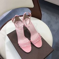 Wholesale High Appeal - Pink heels and sandals Highlight the unique sexual appeal of women for wedding or party luxury brand