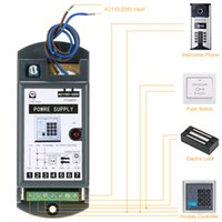 Wholesale power access systems - Wholesale-DC 12V 3A Power Supply for Door Entry Access Control System AC110-220V