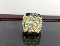 Wholesale new arrived Dallas Cowboy Championship ring champion gold ring with retail box