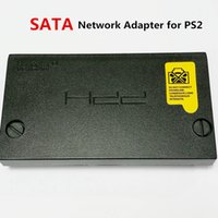Wholesale Network Interface Adapter - High Quality SATA network adapter for ps2 GameStar SATA network adapter for playstation 2 SATA interface for HDD Free ship
