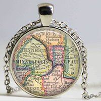 st boyfriend - Minneapolis map necklace minneapolis st paul pendant minneapolis jewelry girlfriend gift boyfriend gift idea
