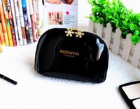 Wholesale Chic Travel Bags - Women Cosmetic Bags nylon Makeup Pouch Chic Portable Travel Clutch Toiletry Waterproof Handbag Purse