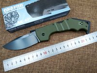 Wholesale Ak 47 Knives - Folding Knife AK-47 NEW COLD STEEL 9CR18 blade G10 handle utility EDC outdoor camping knives hand tool pocket tactical survival knife