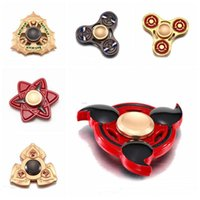 New Best Metal Tri Fidget Spinner Cartoon Style Top Quality Rapidamente animato Cartoon Spinner mano Naruto Fidget Spinner